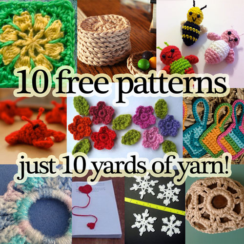 10 yards or less? No problem! These patterns use just a few yards each ...