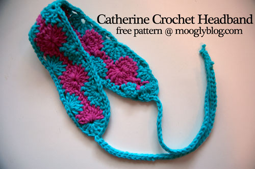 catherine crochet headband free pattern