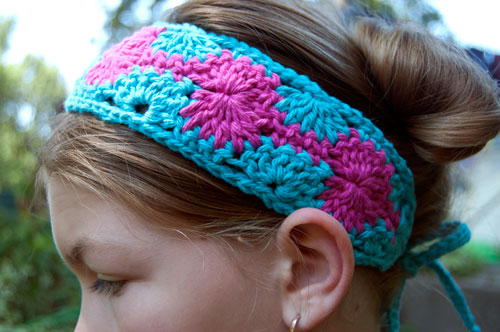 Catherine Crochet Headband: free pattern at moogly wheel tutorial photos