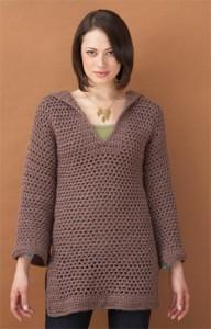 beach coverup tunic robe sweater free crochet pattern pool water swim swimsuit