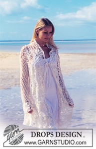 free crochet pattern cardigan coverup swim beach pullover motifs squares