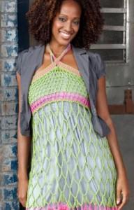 Webby Sundress or Skirt free crochet pattern simmons swim suit cover up