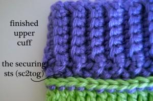 stripes arm warmers socks leg cuffs free crochet pattern