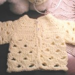 Auntie M's Abigail's Baby Sweater
