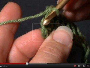 crochet how to video tutorial turning chains stitches counting new learning lesson
