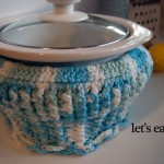 cupcake crockpot cozy free crochet pattern slow cooker rival cotton quart carrier cover