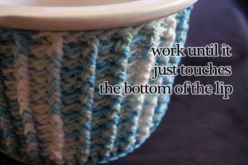 cupcake crockpot cozy free crochet pattern slow cooker crock-pot post stitches