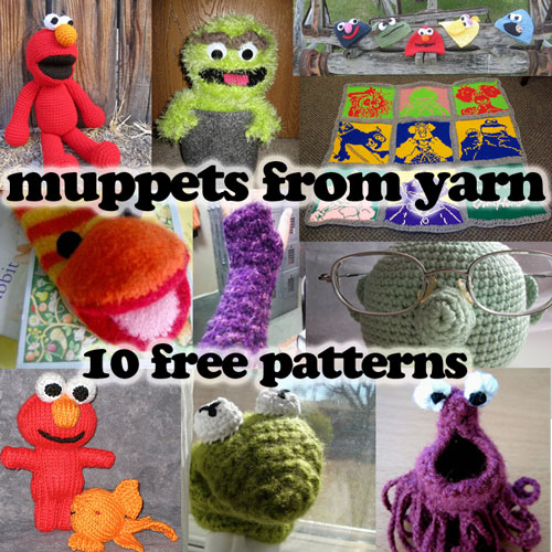 Muppets from Yarn!