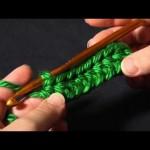 Half Double Crochet (hdc)