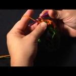 Basics of the Diamond Crochet Cowl and fptrc2tog