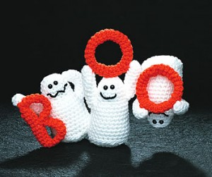 free crochet pattern boo ghosts free crochet halloween decorations