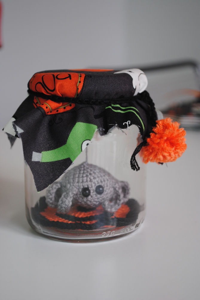 spider in a jar free crochet pattern free crochet halloween decorations patterns spooky