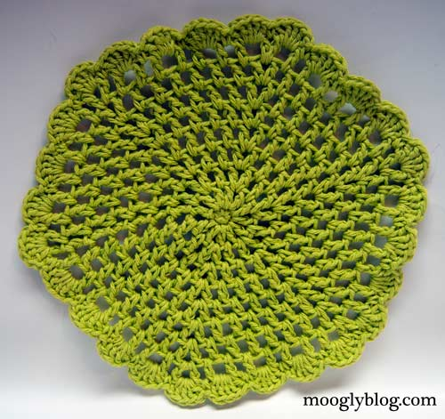 crochet trivet crochet pattern free crochet dishcloth pattern set ...