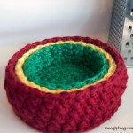 birds nest bowl set free crochet pattern nesting containers cozy home decor organizing gift plate treats teachers holidy