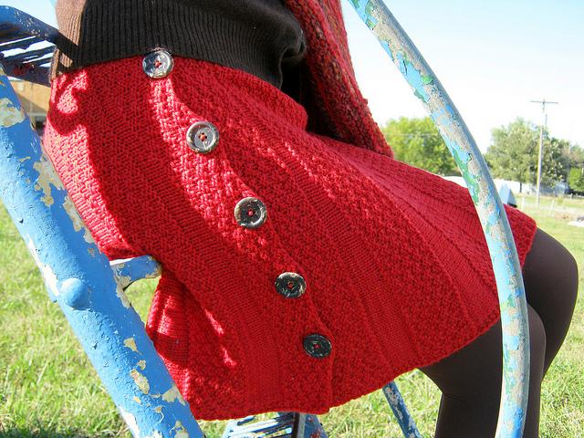 Knitting Skirts Free Patterns : Fall s hot trend free knit and crochet skirt patterns