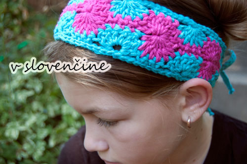 free pattern crochet headband slovak czech slovakian translation catherine wheel