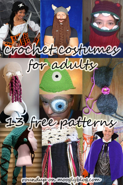 crochet costumes for adults free crochet patterns grown ups roundup list