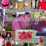 10 Crochet Halloween Costumes for Kids