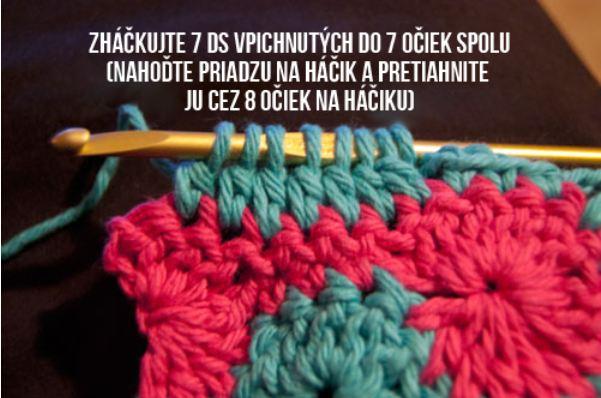 Katkina háčkovaná čelenka catherine wheel crochet headband free pattern