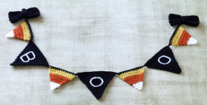 halloween pennants free crochet pattern free crochet halloween decorations