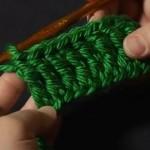 Treble Crochet / Triple Crochet (tr)