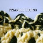 baby blanket crochet edging free pattern crochet blanket edging go team colors