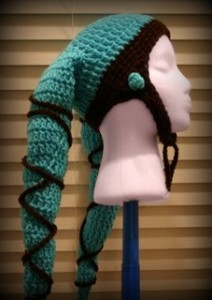 crochet costumes for adults free crochet patterns grown ups star wars twi'lek jedi knight hat pattern