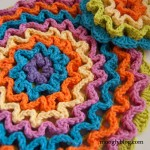 Wiggle It Crochet Trivet and Dishcloth Set