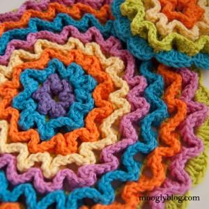 crochet trivet pattern free dishcloth pattern crochet set wiggly crochet 3D thick