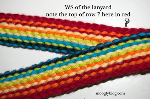Rainbow Lanyard - free crochet pattern! on mooglyblog,com