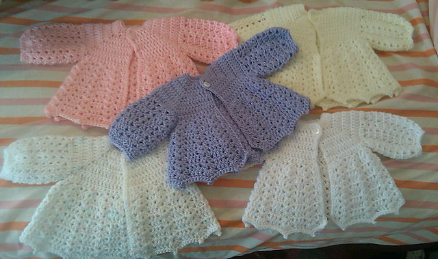 Crochet Newborn Baby Sweater Free Pattern : Free Crochet Baby Sweater Patterns Car Interior Design