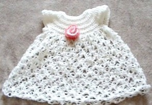 Free Crochet Baby Dress Patterns Easy : Crochet Lace for Baby: 10 Gorgeous Free Patterns