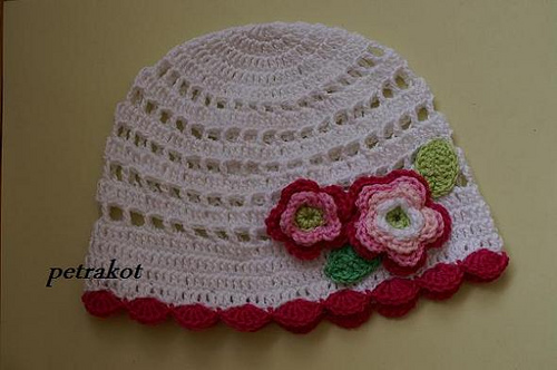 Free Crochet Baby Lacy Hat Pattern : Crochet Lace for Baby: 10 Gorgeous Free Patterns
