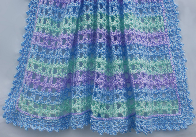 Free Crochet Pattern For Lacy Baby Blanket : Crochet Baby Afghan Pattern Free Easy Crochet Patterns ...