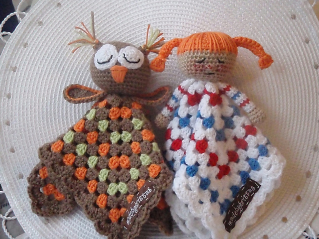 Free Crochet Pattern For Granny Square Baby Blanket : Ten *More* Free Crochet Owl Patterns