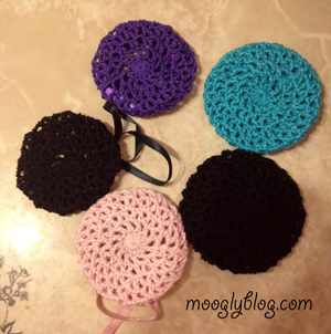 Free Pattern All Too Perfect Crocheted Bun Cover - Diy bun cover