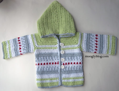 Sven Sweater The Perfect Crochet Baby Cardigan