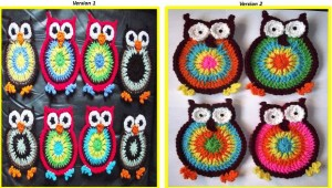 crochet owl pattern free crochet owl patterns crocheted owls owl coasters
