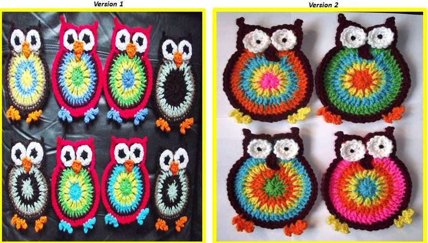 crochet owl pattern free crochet owl patterns crocheted ...