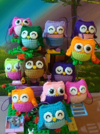 Ten More Free Crochet Owl Patterns