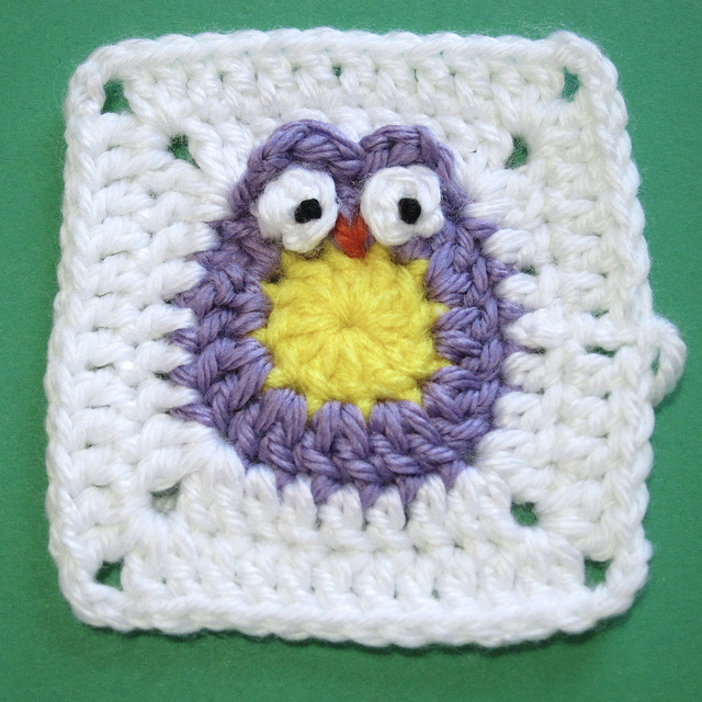Free Crochet Pattern For Owl Afghan : Ten *More* Free Crochet Owl Patterns