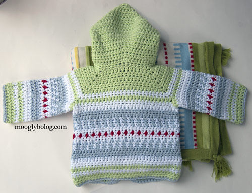 a9b303bc2ebf Sven Sweater  the Perfect Crochet Baby Cardigan!