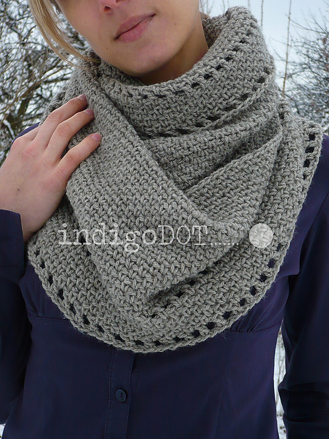 Free Cowl Knitting Patterns For Beginners : free easy crochet infinity scarf patterns MEMEs