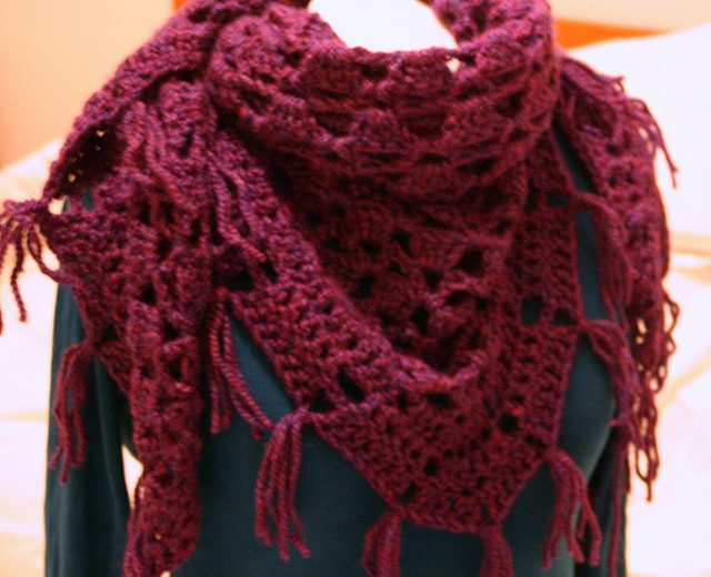 Crochet Shawl Patterns With Diagrams images