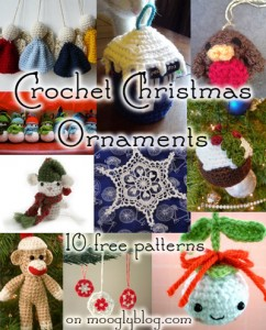 free crochet christmas ornaments