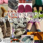 Crochet Slippers for the Whole Family: 20 Free Patterns!