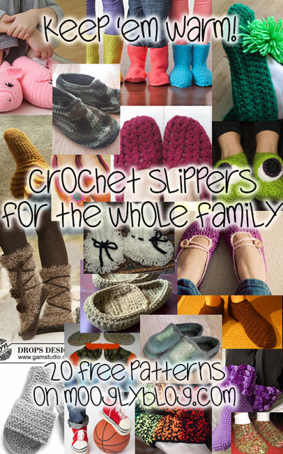 Crochet Slippers For The Whole Family With 40 Free Patterns Unique Free Crochet Slipper Boots Patterns For Adults