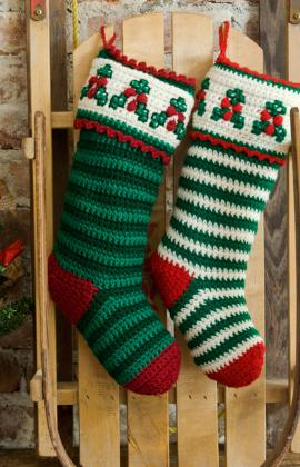 Crochet Christmas Stocking.Crochet Christmas Stockings 10 Free Patterns To Hang This Year