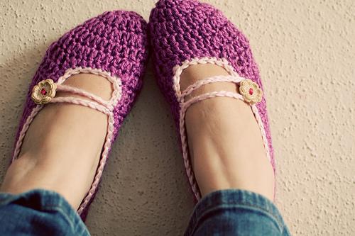 Crochet Women Slippers - Accessories, Adult Crochet Slippers, Home