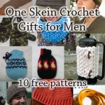 One Skein Crochet Gifts for Men